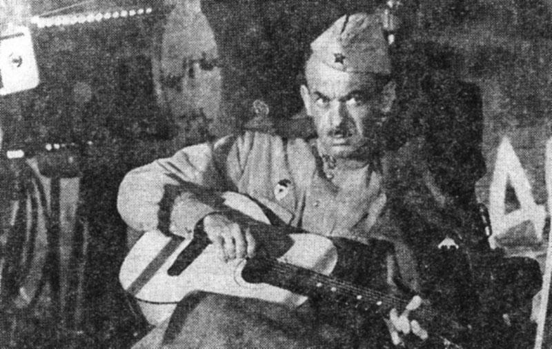Солдатские песни Булата Окуджавы