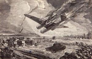 Первый «огненный таран» Великой Отечественной войны